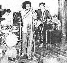 Don Mizell at the Mic